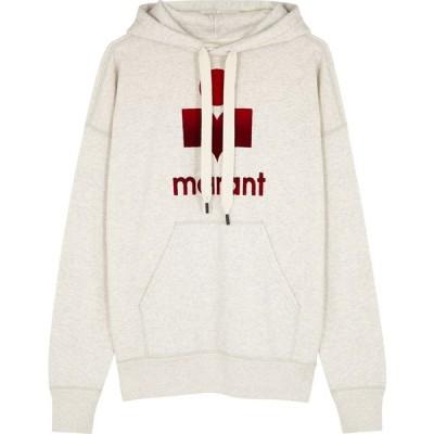 イザベル マラン Isabel Marant Etoile レディース パーカー トップス Mansel Logo Hooded Jersey Sweatshirt Multi