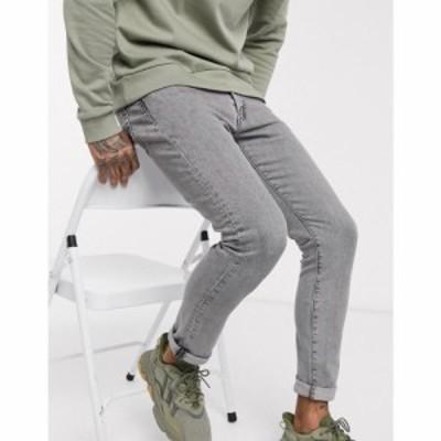 リーバイス Levis メンズ ジーンズ・デニム ボトムス・パンツ 519 super skinny fit jeans in green acres dust advanced stretch black