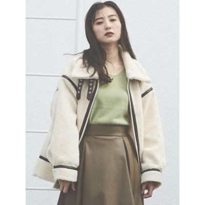 【公式】COTORICA WOMEN(コトリカ)【WEB限定】ボアフライトジャケット