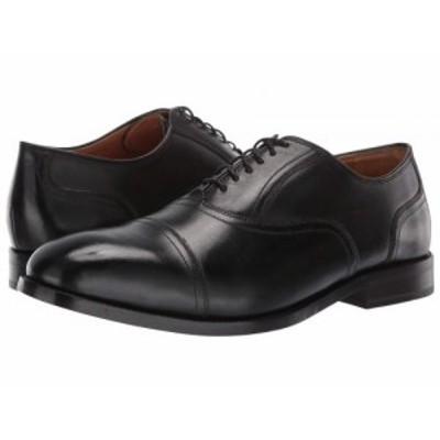 Cole Haan コールハーン メンズ 男性用 シューズ 靴 オックスフォード 紳士靴 通勤靴 Kneeland Plain Cap Toe Oxford Black【送料無料】