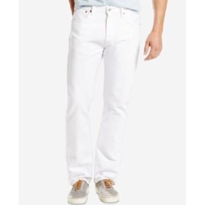 リーバイス メンズ デニムパンツ ボトムス Men's 501 Original Fit Non-Stretch Jeans Optic Daisy