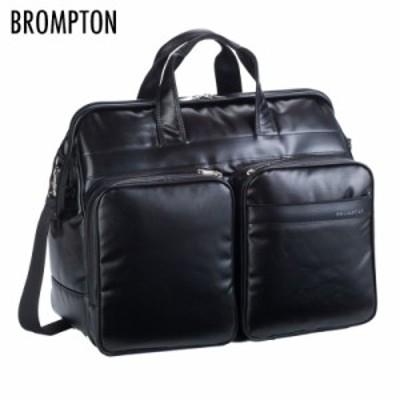 ボストンバッグ ダレスバッグ メンズ  日本製 旅行かばん ブロンプトン PCコートチャックダレスBTシリーズ 黒 31128