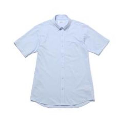 ジュンレッドシャドーダイヤ柄ニットドレス半袖シャツ【お取り寄せ商品】