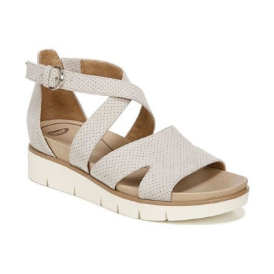 ドクター・ショール サンダル シューズ レディース Women's Good Karma Strappy Dress Sandals Oyster