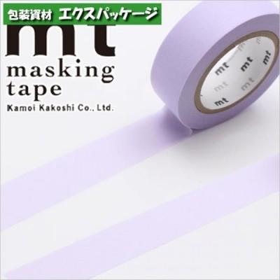 マスキングテープ カモ井 パステルパープル 1個入 #001603839 バラ販売 取り寄せ品 シモジマ
