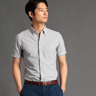 MONSIEUR NICOLE シアサッカー素材ボタンダウンシャツ (91その他2)