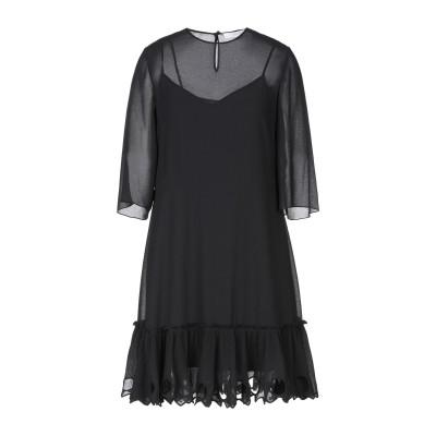 シーバイクロエ SEE BY CHLOÉ ミニワンピース&ドレス ブラック 36 ポリエステル 100% ミニワンピース&ドレス