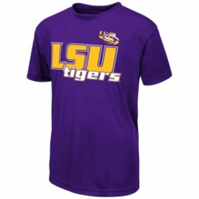Colosseum コロセウム スポーツ用品  Colosseum LSU Tigers Youth Purple Polyester T-Shirt