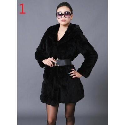 暖かい 冬物 レディース オフィス ロング丈コート おしゃれ 上着 ジャケット アウター OL 通勤 フェイクファー 女性 防寒 毛皮コート 上質 長袖コート 切り替え
