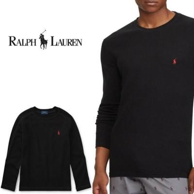 POLO Ralph Lauren ポロ ラルフローレン サーマル ロンT  ロングTシャツ r489 ブラック