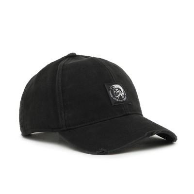 ディーゼル DIESEL CONDI-MAX ベースボールキャップ モヒカンラベル ブラック 00SHHZ 0NAUI 900A 02 ブランド おしゃれ メンズ レディース 黒 帽子
