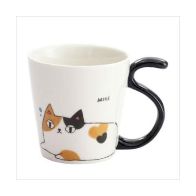 にゃん屋 猫3兄弟 しっぽマグカップ mike 13009 (APIs)