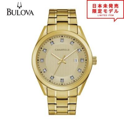 BULOVA ブローバ メンズ 腕時計 リストウォッチ 44B125 ゴールド 海外限定 時計 日本未発売 当店1年保証 最安値挑戦中!