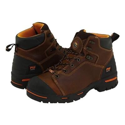 """ティンバーランド Endurance PR 6"""""""" Waterproof Steel Toe メンズ ブーツ Brown"""