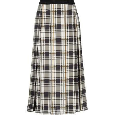 NORA BARTH 7分丈スカート ミリタリーグリーン 42 ポリエステル 100% 7分丈スカート