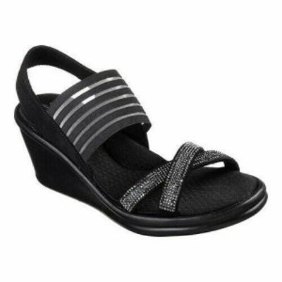 SKECHERS スケッチャーズ ファッション サンダル Skechers Womens  Rumblers Modern Maze Wedge Sandal