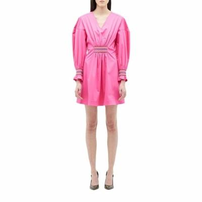 デレクラムテンクロスバイ ワンピース トップス レディース Katerina Dress w/ Smocking Detail Vibrant Pink
