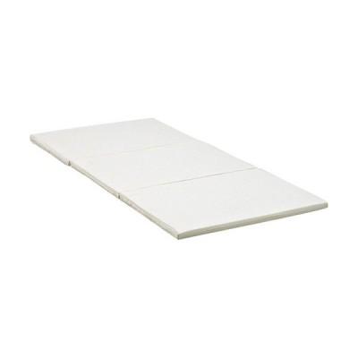 硬綿タイプ薄型三つ折りマットレス 4cm厚 LM-1180