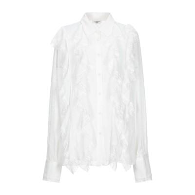 LE COEUR TWINSET シャツ ホワイト S ポリエステル 100% / ナイロン シャツ