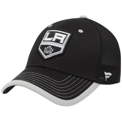 ユニセックス スポーツリーグ ホッケー Los Angeles Kings Fanatics Branded Iconic Hold Speed Flex Hat - Black 帽子