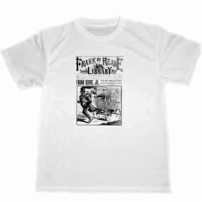 フランク リード ライブラリー ドライ Tシャツ SF小説 ダイムノベル
