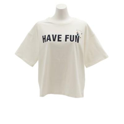 パワー・トゥ・ザ・ピープル(POWER TO THE PEOPLE)Tシャツ 半袖 HAVEFANプリント 9512515-06OFF