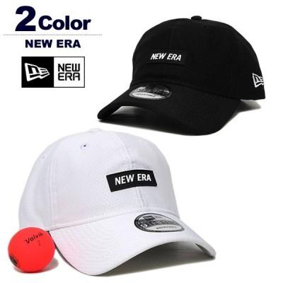 ニューエラ 帽子 キャップ メンズ レディース 9THIRTY 吸汗性 UVカット ゴルフ NEWERA RubberLogo 2020秋冬