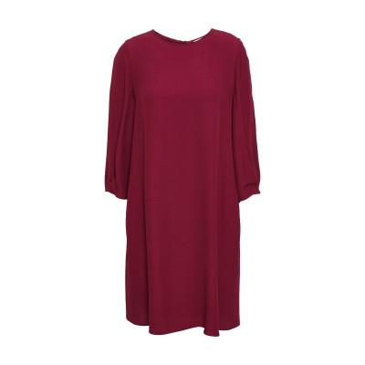 VANESSA BRUNO ミニワンピース&ドレス ボルドー 36 レーヨン 58% / アセテート 42% ミニワンピース&ドレス