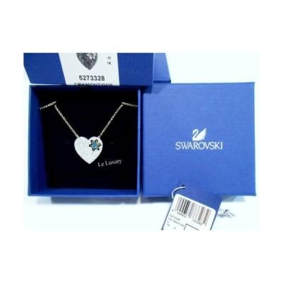 ネックレス スワロフスキー Swarovski Great Star Necklace, Blue, Crystal Authentic MIB 5273328