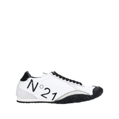 ヌメロ ヴェントゥーノ N°21 スニーカー&テニスシューズ(ローカット) ホワイト 36 革 / 紡績繊維 スニーカー&テニスシューズ(ローカット)