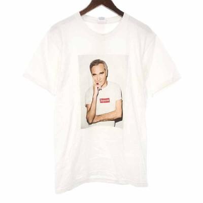 シュプリーム/SUPREME 16SS Morrissey Tee モリッシー プリント Tシャツ 92K20 サイズ メンズM ホワイト ランクC 103  (中古)