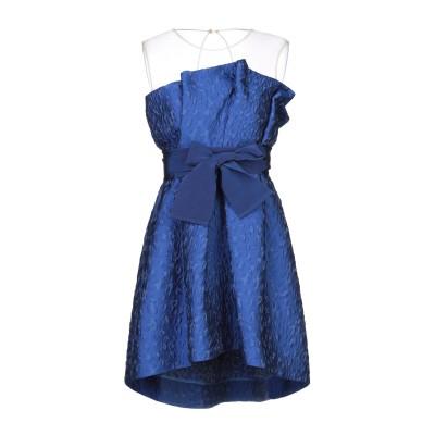 パロッシュ P.A.R.O.S.H. ミニワンピース&ドレス ブルー S ポリエステル 88% / ナイロン 12% ミニワンピース&ドレス