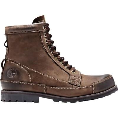 ティンバーランド Timberland メンズ ブーツ シューズ・靴 Earthkeepers Rugged Originals Leather 6in Boot Medium Brown Full Grain