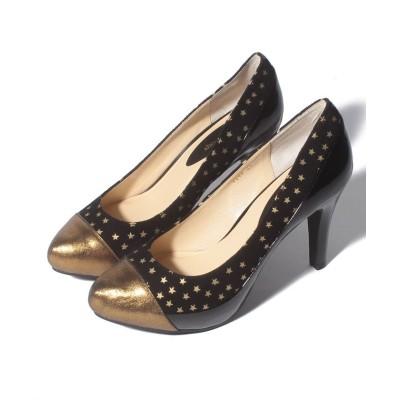 【シューズラウンジ】 [shoes lounge] 3640944 BS/ 23.5 レディース ブラック 22.5 shoes lounge
