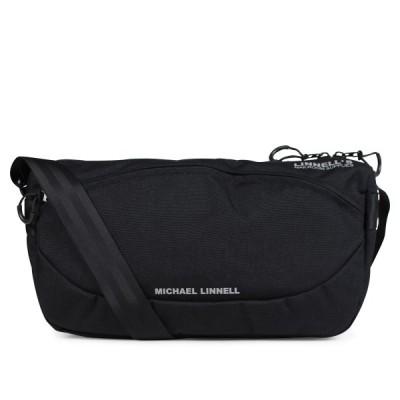 マイケルリンネル MICHAEL LINNELL ショルダーバッグ メンズ レディース SHOULDER ブラック 黒 MLCD-600