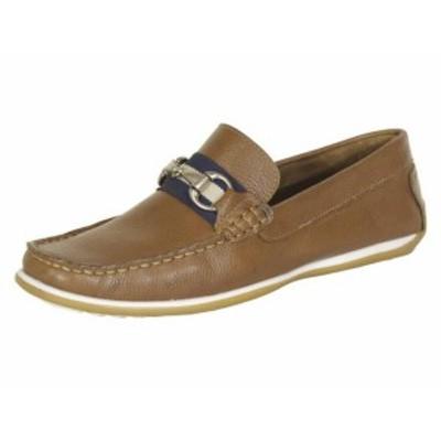 Giorgio Brutini ジョルジオブルティーニ ファッション シューズ Giorgio Brutini Mens Tiller Tan Driving Loafers Shoes
