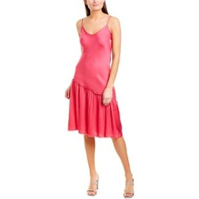 ネーション レディース ワンピース トップス Nation LTD Farrah Midi Dress ultra pink