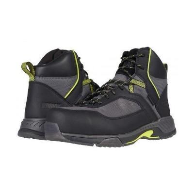 Kodiak メンズ 男性用 シューズ 靴 ブーツ ワークブーツ MKT 1 Composite Toe Hiker - Black/Lime