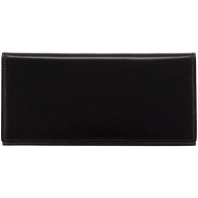 [ミカド] 長財布 アリニンコードバン メンズ 648015 【01】ブラック