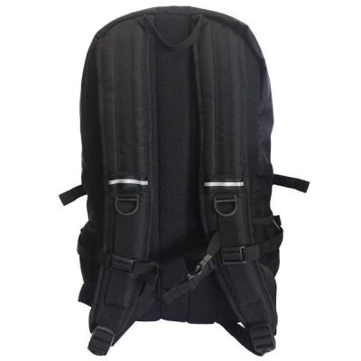 ロゴスLOGOS リュック デイパック 黒 機能ポケット 大容量 30L 79-84F