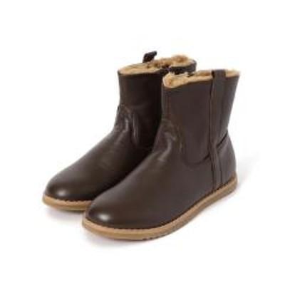 シップスOLD SOLES:牛革 ショートブーツ【お取り寄せ商品】