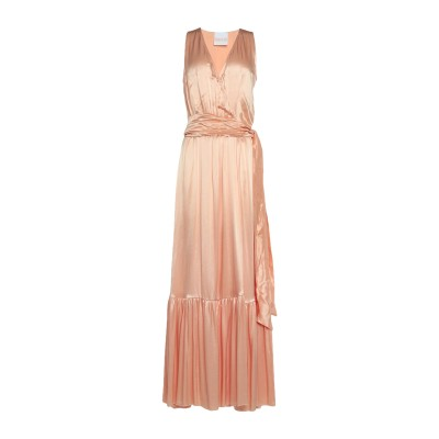 アニヤバイ ANIYE BY ロングワンピース&ドレス ピンク L レーヨン 100% ロングワンピース&ドレス