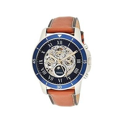 【新品未使用品】Fossil Men's ME3140 Grant Sport Automatic Luggage Leather Watch【並行輸入品】