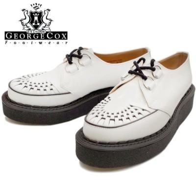 GEORGE COX ジョージコックス ラバーソール 3588 ホワイト GIBSON ギブソン Dリング