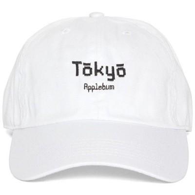 アップルバム キャップ APPLEBUM Tokyo Cotton Cap ボールキャップ 帽子 ホワイト