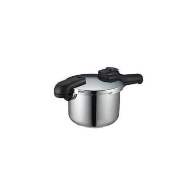 パール金属 圧力鍋 4.5L IH対応 3層底 切り替え式 クイックエコ H-5041