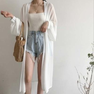 UVカット 新作 日焼け止め服tシャツ パーカー 大きいサイズ 長袖 シンプル カジュアル アウター トップス ゆったり感 レディース 手薄
