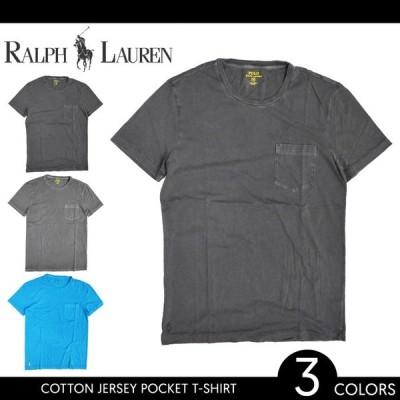 POLO Ralph Lauren ポロ ラルフローレン Cotton Jersey Pocket T-Shirt ポケットTシャツ 半袖 ポケT メンズ 単品購入の場合はネコポス便発送