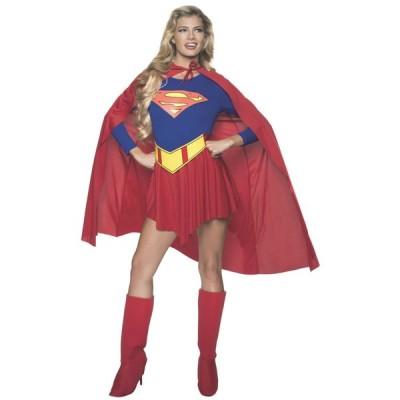 スーパーマン コスチューム クラシック アダルト スーパーガール コスチューム
