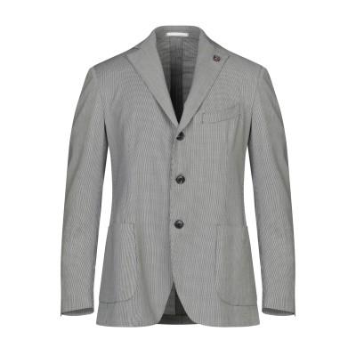 ガブリエレ パジーニ GABRIELE PASINI テーラードジャケット スチールグレー 52 ウール 100% テーラードジャケット